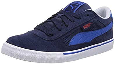 Puma Puma S Evolution, Herren Sneakers, Blau (peacoat-strong blue 12), 39 EU (6 Herren UK)