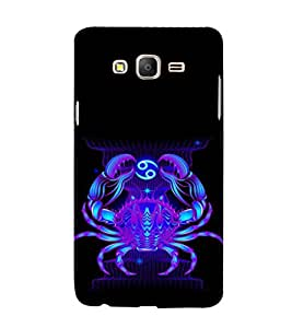 ifasho zodiac sign cancer Back Case Cover for Samsung Galaxy On7 Pro