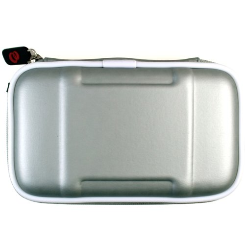 Airform Leather Case for NDS Lite Nitendo Console + Crystal Clear LCD Protector with Cleaning Cloth (Silver 2nd Edition)