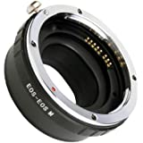 Electronic Auto Focus Adapter for Canon EF lens to EOS M Mirrorless Camera DC418