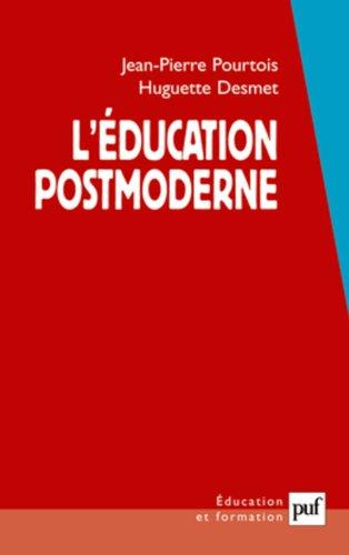L'éducation postmoderne