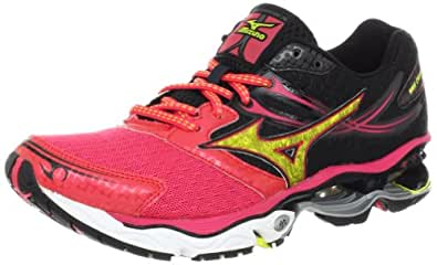 Mizuno Women's Wave Creation 14 Running Shoe,Rouge Red,6 B US