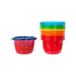 The First Years Take & Toss Snack Cups, 4.5 Ounce, 6 Pack By The First Years
