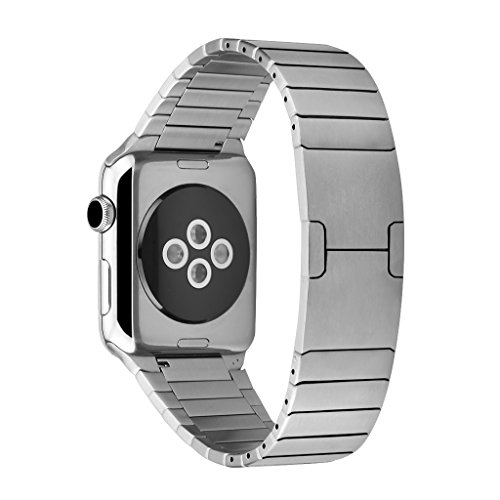 excelvan-l04-correa-de-acero-inoxidable-para-apple-watch-42mm-boton-plegable-doble-plata