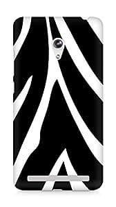 Amez designer printed 3d premium high quality back case cover for Asus Zenfone 6 (Texture Zebra)