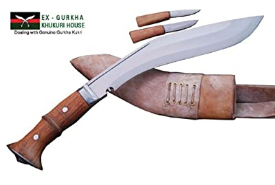 "Genuine Gurkha Full Tang Kukri Knife - 11"" Blade Iraqi Operation Khukuri or Khukris - Handmade By Ex Gurkha Khukuri House in Nepal by Ex Gurkha Khukuri House"