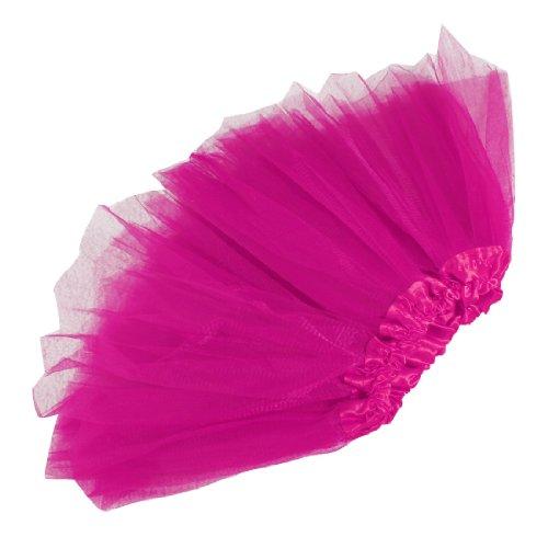Baby Girls Tutu Skirt Dress-Up 3-Layered Tulle Ballet Fairy Princess Costume Ballerina Dancewear,Hot Pink