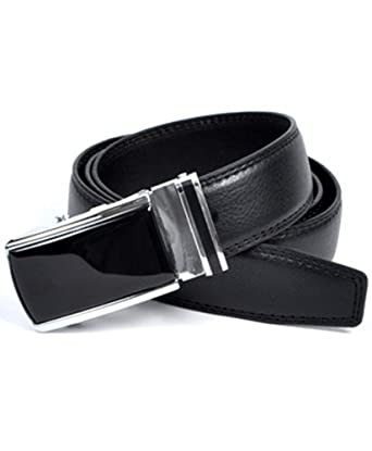 SlideBelts Men's Leather Ratchet Belt