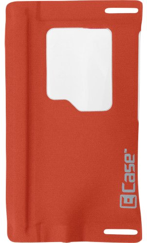 E-Case Iseries Ipod/Iphone 5 Case With Jack, Mandarin Red