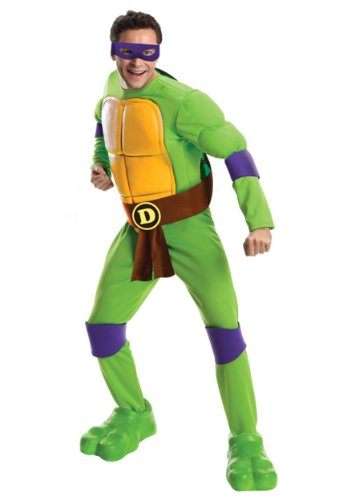 Officially Licensed Men's Donatello TMNT Costume