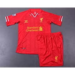 Liverpool Kids 2014-2015 Soccer Jersey Set (Youths Age 5-6) by ValeSim14