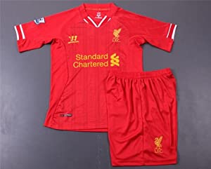 Liverpool Kids 2014-2015 Soccer Jersey Set (Youths Age 3-4) by ValeSim14