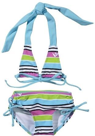 Kanu Surf Sweetheart Bikini Swimsuit - Blue/Pink-5