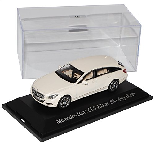 Mercedes-Benz CLS 350 Shooting Brake Diamant Weiss X218 Coupe Kombi Ab 2011 1/43 Norev Modell Auto