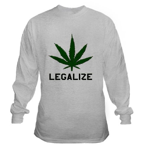 Legalize Marijuana 420 Long Sleeve T-Shirt by CafePress