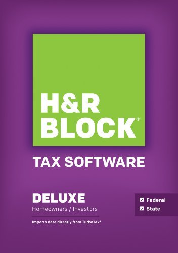 H&R Block Tax Software Deluxe + State 2014 Mac [Download] (Hr Block Tax Software Mac 2014 compare prices)