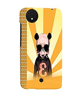 Fuson 3D Printed Designer back case cover for Micromax Android A1 - D4585