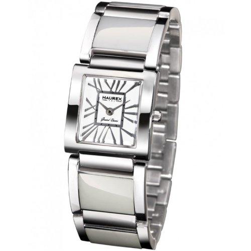 Haurex Italy XA348DW1 - Reloj de mujer de cuarzo, correa de acero inoxidable color plata