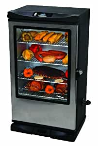 Masterbuilt 20070312 30-Inch Front Controller Electric Smoker with Window and RF Controller (Discontinued by Manufacturer)