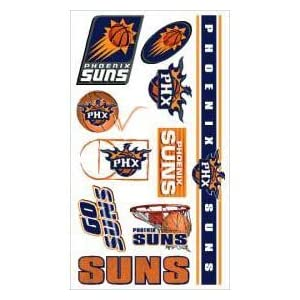 Caseys Distributing 3208514382 Phoenix Suns Temporary Tattoos