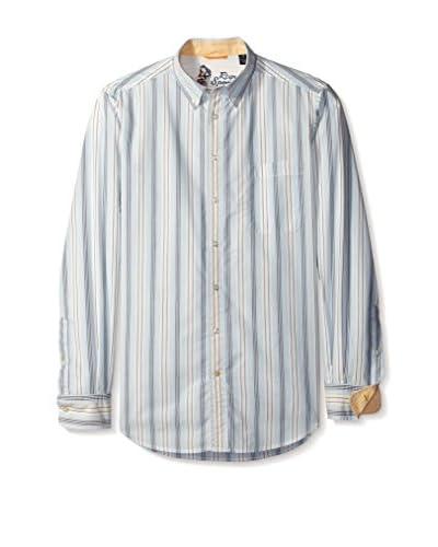 Reyn Spooner Men's Weekend Stripe Shirt