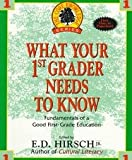 What Your 1st Grader Needs To Know: Fundamentals of a Good First-Grade Education - 1993 (The Core Knowledge Series, Book 1)