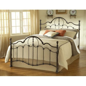 Hillsdale Venetian Bed Set - Full With Rails Old Bronze front-978129