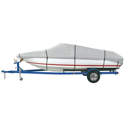 """Dallas Manufacturing Company Dallas Manufacturing Co. Heavy Duty Polyester Boat Cover B - 14-16' V-Hull Runabouts Aluminum Bass Boats - Beam To 90"""""""