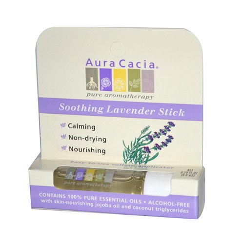Aura Cacia Soothing Lavender Roll On -- 0.31 fl oz