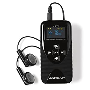 Sportline 1075 Unisex M.E.T.A Heart Rate Monitor + MP3 Player
