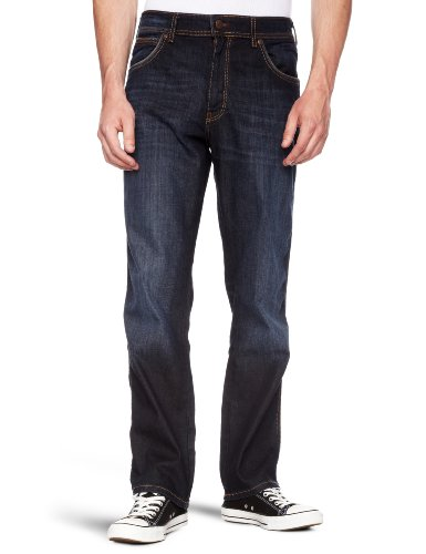 Wrangler Texas Straight Men's Jeans Copper Blue W34in x L30in