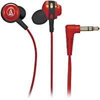 Audio Technica ATH-COR150RD In-Ear 3.5mm Wired Headphones (Red)