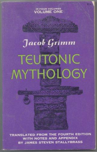 Teutonic Mythology in Four Volumes (4 volume set)