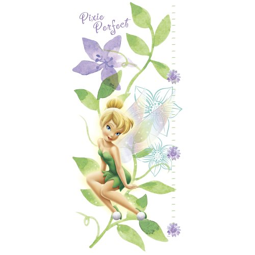 Blue Mountain Wallcoverings DF129919WM Fairies Self-Stick Wall Growth Chart