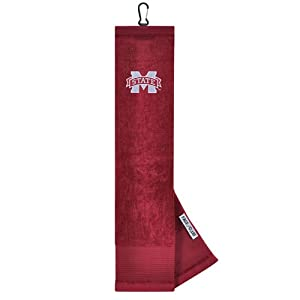 NCAA Mississippi State Embroidered Golf Towel