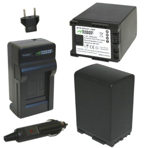 wasabi-power-battery-2-pack-and-charger-for-canon-bp-827-and-canon-vixia-hf20-hf21-hf200-hf-g10-hf-g