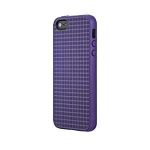 Speck Products PixelSkin HD Rubberized Case for iPhone 5/5s - Retail Packaging - Grape Purple