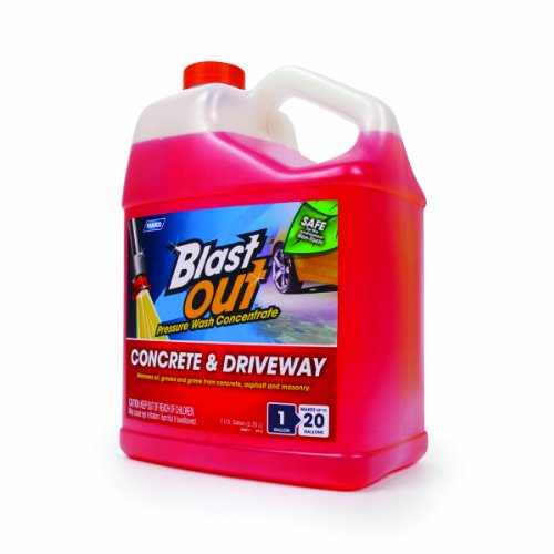 Camco 41827 blast out concrete and driveway cleaner 1 for Cement driveway cleaner