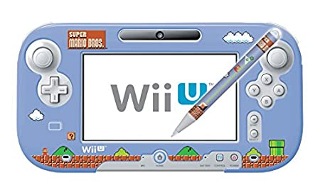 HORI Retro Mario GamePad Protector and Stylus Set - Nintendo Wii U