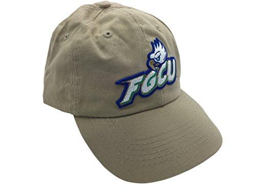 fgcu florida gulf coast eagles khaki hat cap