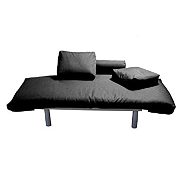 SOFA CAMA HAPPY Negro de PRACTICA SHOPPING