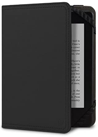 Marware Atlas Kindle Cover, Black  [will only fit Kindle Paperwhite, Kindle (5th Generation), Kindle Touch (4th Generation) and Kindle (7th Generation)]