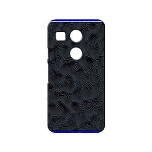 BLUEDIO Designer 3D Printed Back case cover for LG Nexus 5X - G7956