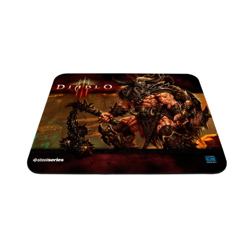 SteelSeries QcK Diablo III Gaming Mouse Pad - Barbarian Edition (Diablo 3 Pad compare prices)