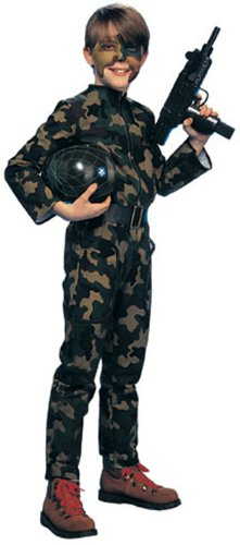 Young Heroes Child's G. I. Soldier Costume, Large