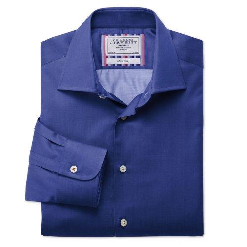 Charles Tyrwhitt Royal plain business casual slim fit shirt (18 - 37)