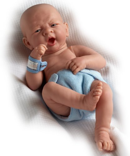 Jc Toys La Newborn First Yawn- Real Boy