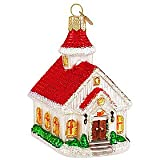 Old World Christmas The Country Church Ornament
