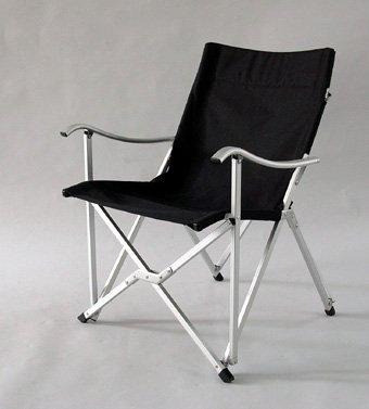 E-Z Sales B73 Black Compact Sun Chair