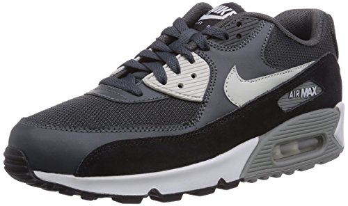 Nike Mens Air Max 90 Essential Anthracite/Granite/Black Running Shoe 11 Men US (Nike Air compare prices)